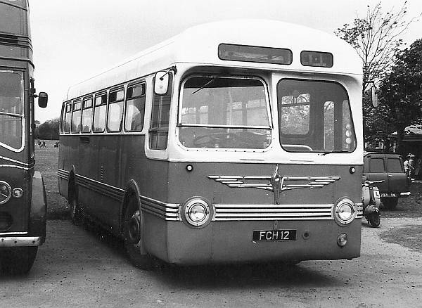 1954 Leyland Tiger Cub new to Trent with Saro bodywork.