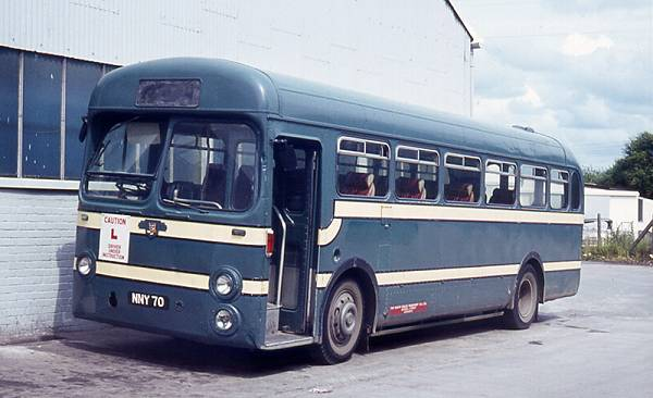 1954 Leyland Tiger Cub NNY70 with Saro B44F body