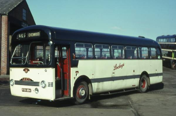 1954 Leyland Tiger Cub PSUC1 with Saunders-Roe (SARO) bodywork.