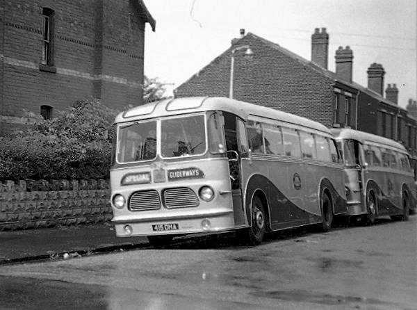 1954 Leyland Tiger Cub with Harrington Wayfarer MK IV bodywork