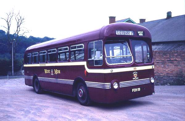 1954 Leyland Tiger Cub with Saro B44F body