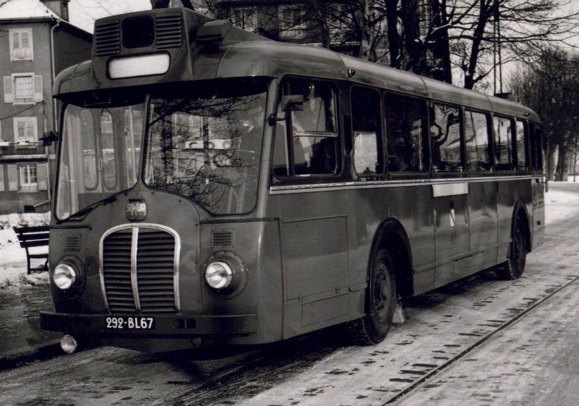 1954 SomuaOP5.3 à l'arrêt Hippodrome