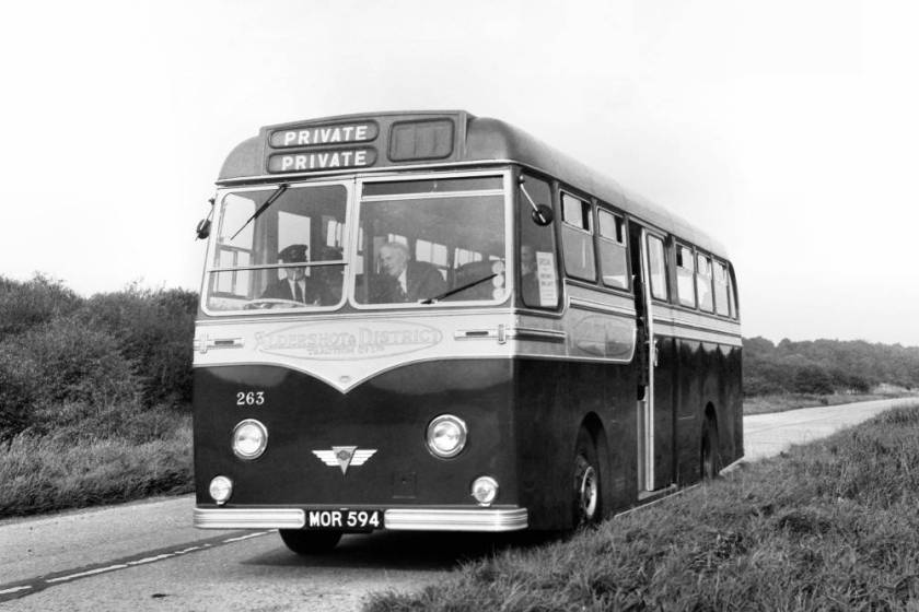1954 Strachan bodied AEC Reliance