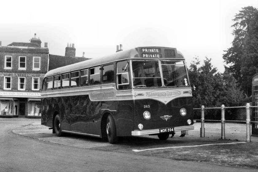 1954 Strachan bodied AEC Reliant