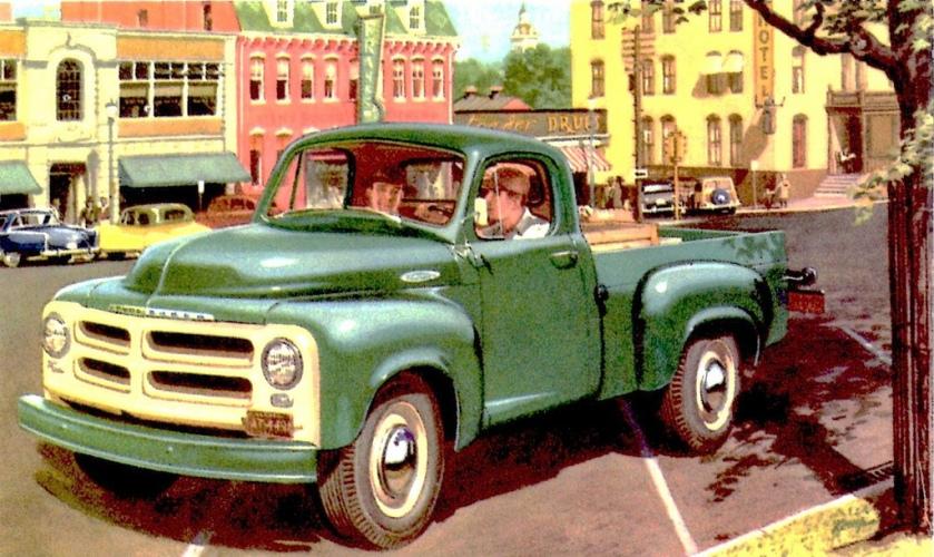 1954 Studebaker 0,5 T Truck