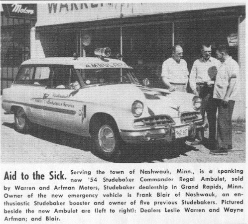 1954 Studebaker Ambulet station wagon