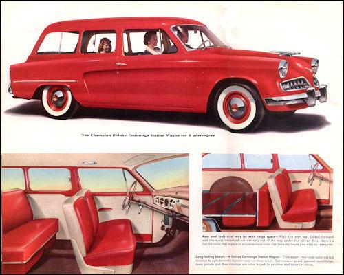 1954 studebaker Champion Conestoga Deluxe