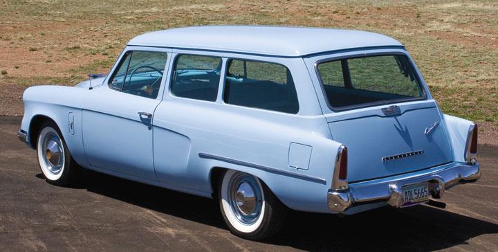1954 Studebaker Commander Deluxe Conestoga a