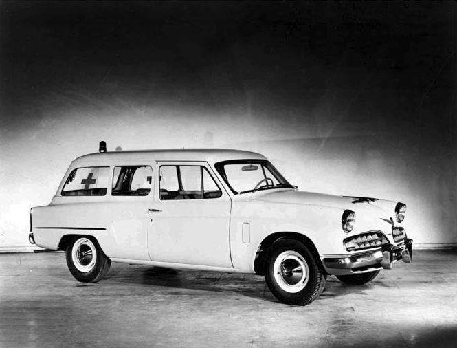 1954 Studebaker Starliner Ambulance