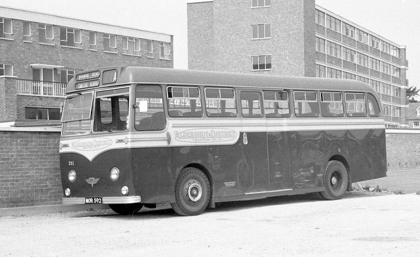 1955 AEC Reliance Strachan C41C