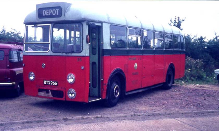 1955 AEC Reliance with Longwell Green B44F body