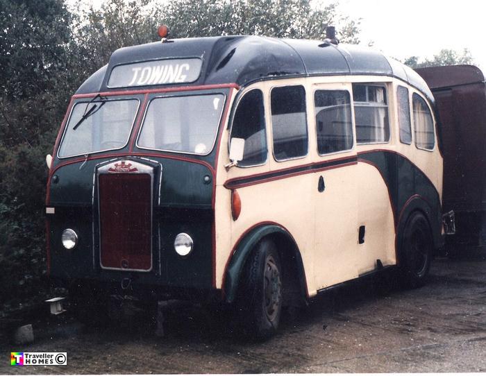 1955 Albion Heaver B35F. Ex-Guernsey Railway 36