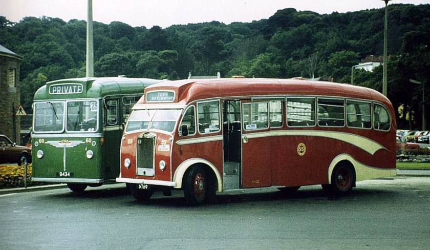 1955 Albion Victor FT39AN with a Heaver B35F
