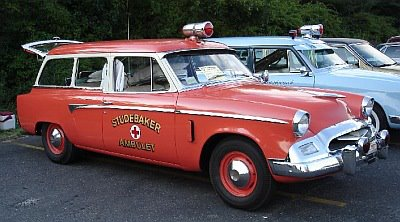 1955 Ambulance Studebaker Commander Ambulet