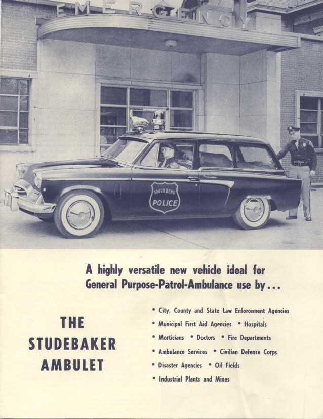 1955 Ambulet Studebaker