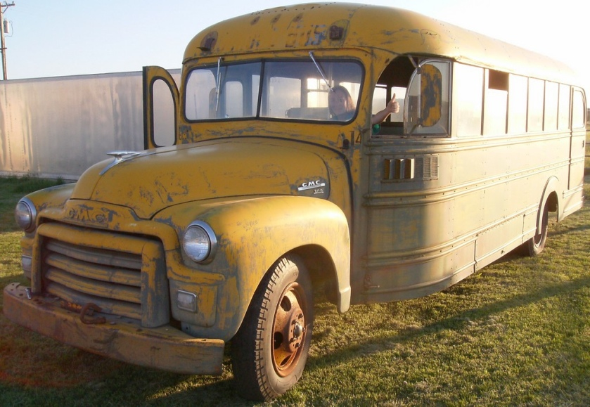1955 Carpenter school bus