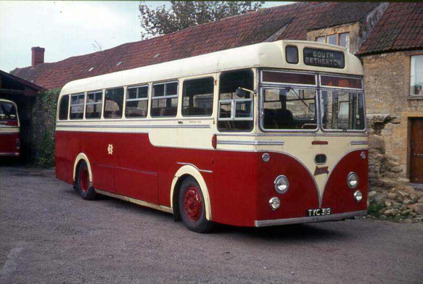 1955 Dennis Lancet UFs with Strachan DP41F bodies