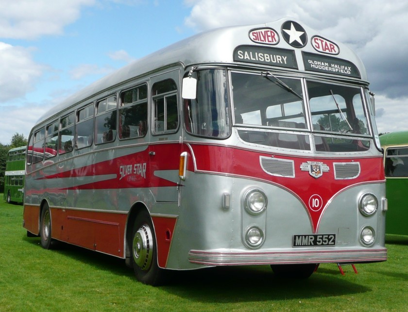 1955 Harrington WayfarerII-bodied Leyland Tiger Cub of Silver Star