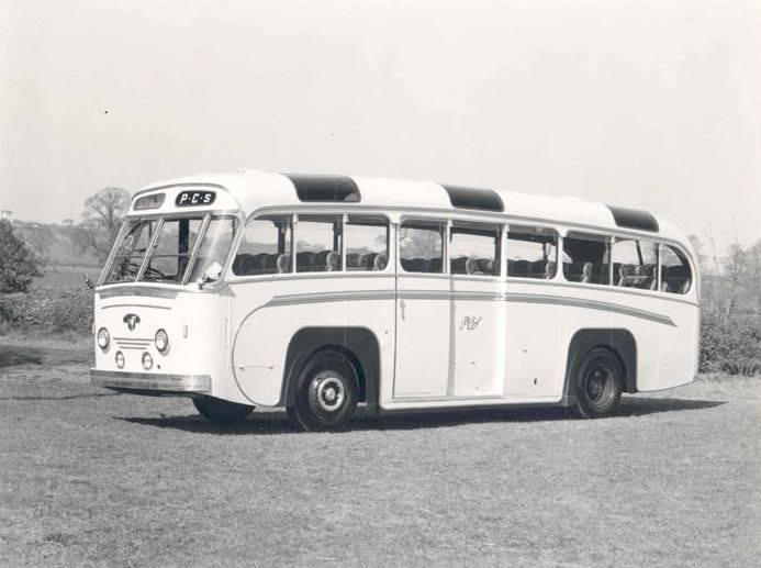 1955 Leyland Bus, Longwell Green Coach Works