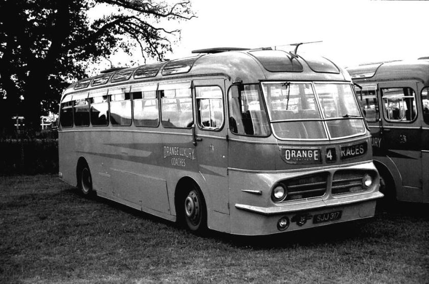 1955 Leyland PSUC1-2 Tiger Cub with a Harrington Wayfarer IV C41C body