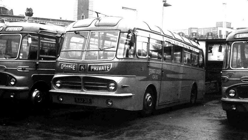 1955 Leyland PSUC1-2 Tiger Cub with Harrington C37C body