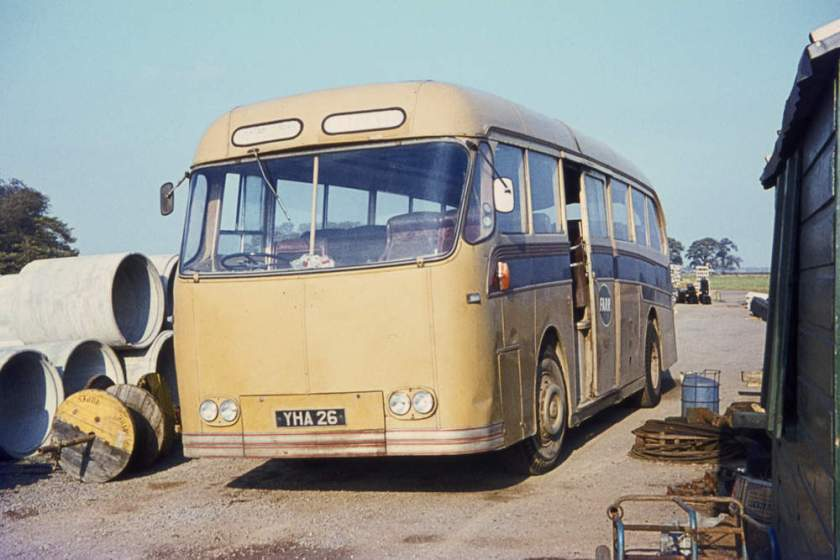 1955 Leyland Royal Tiger Worldmaster RT3-1 with Harrington Wayfarer C37C body