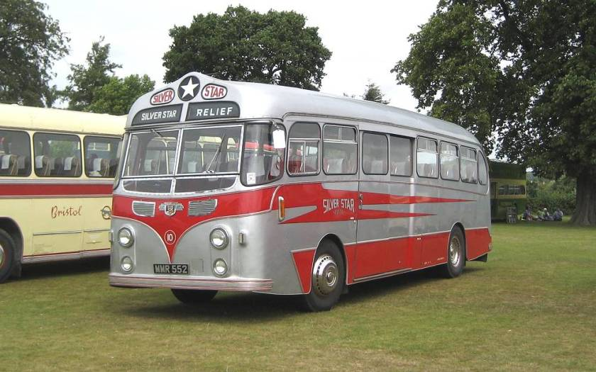 1955 Leyland Tiger Cub PSUC1-2 with Harrington 41 seat centre entrance body