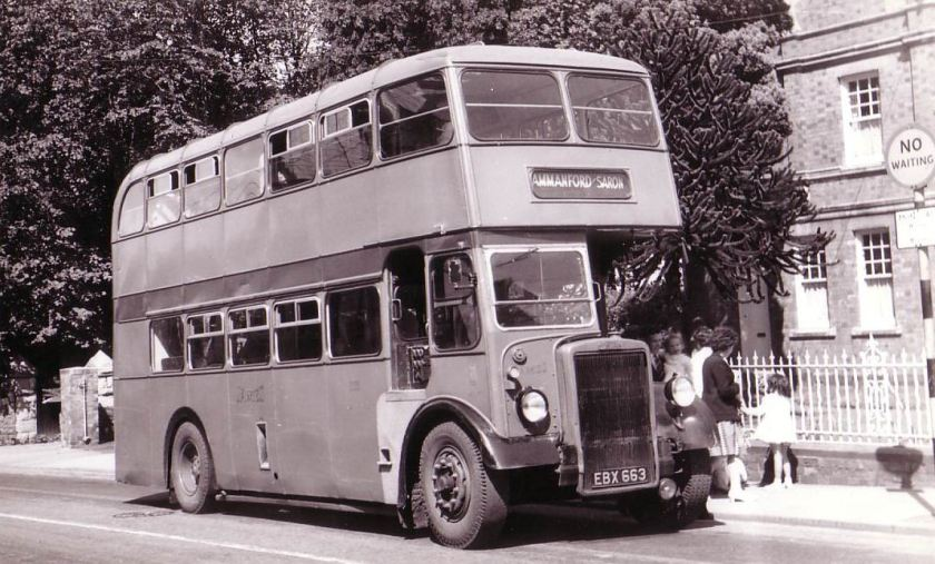 1955 Leyland with longwell Green body a