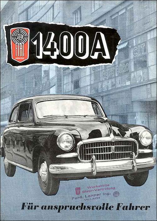 1955 Steyr 1400A