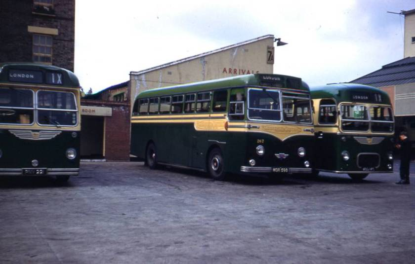 1955 Strachan Everest C41C bodywork on its AEC Reliance chassis