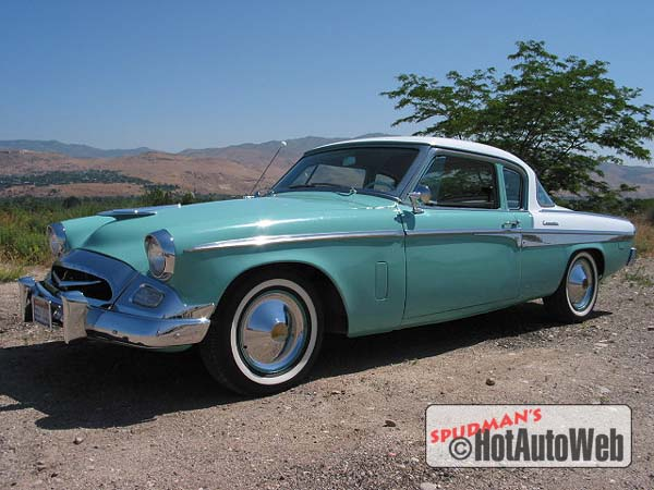 1955 Studebaker Commander Regal 16G8 C5 Two-Door Exterior