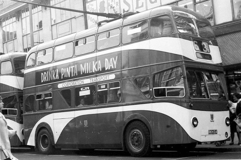 1955 Sunbeam MF2B-MV with Roe H54D body