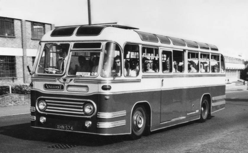 1955 Valliant XHN574 AEC Reliance Strachans C41C