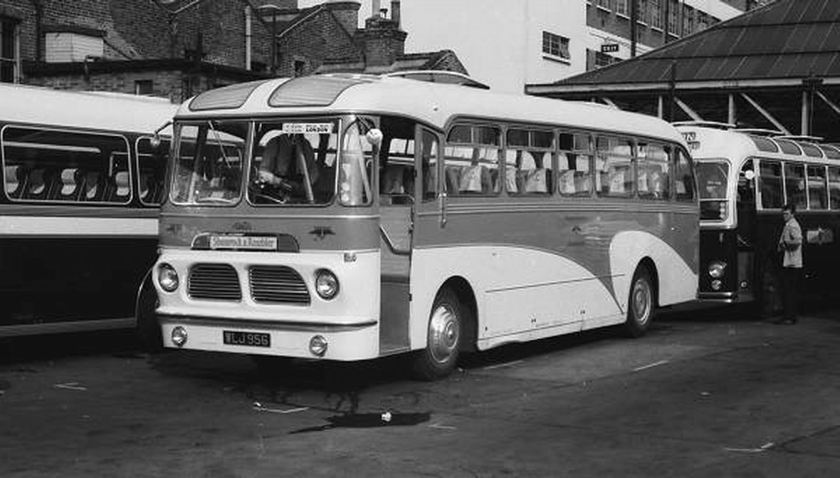 1956 Albion Aberdonian with Harrington C41F body