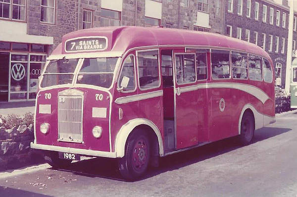 1956 Albion Victor FT39AN with Heaver B35F body