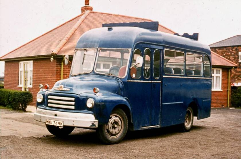 1956 Bedford A3LZG had a Harrington body