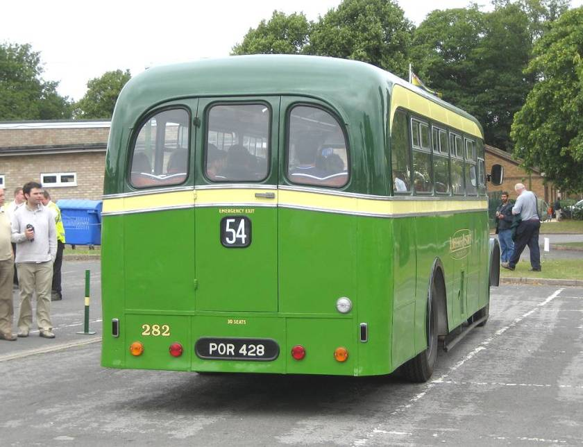1956 Dennis Falcon with Strachan B30F body
