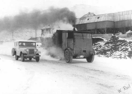 1956 Sentinel S-6 steam truck