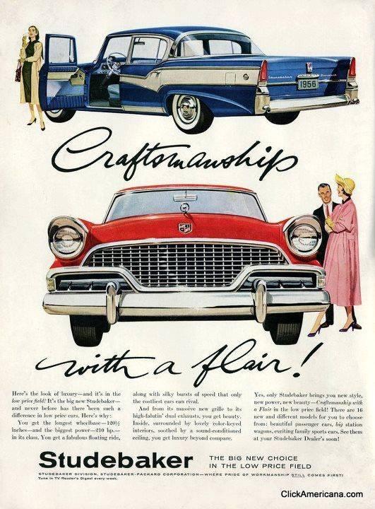1956 Studebaker ad