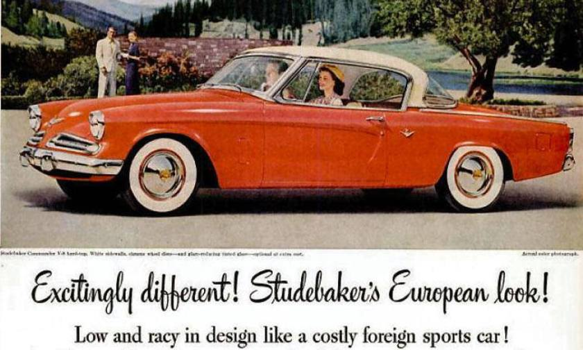 1956 Studebaker Europian Look