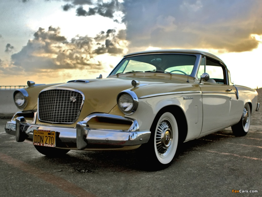 1956 Studebaker Sky Hawk Coupe