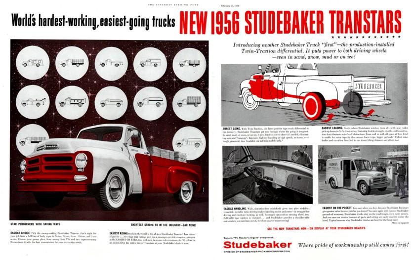 1956 Studebaker Truck Ad-01