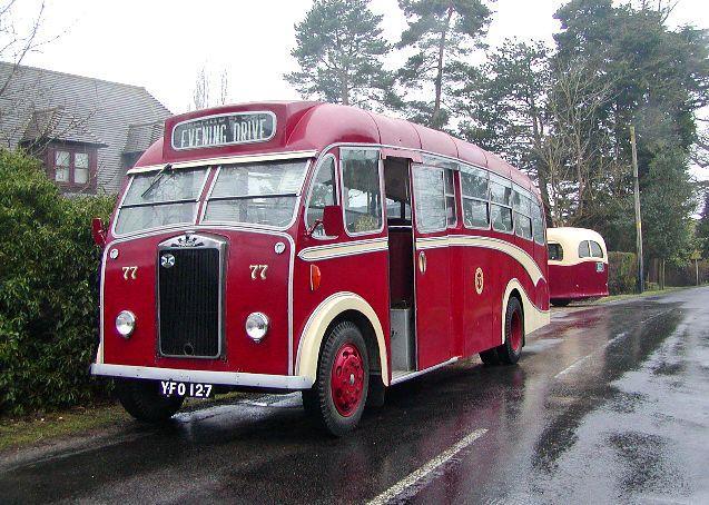 1957 Albion Victor Heaver B35F