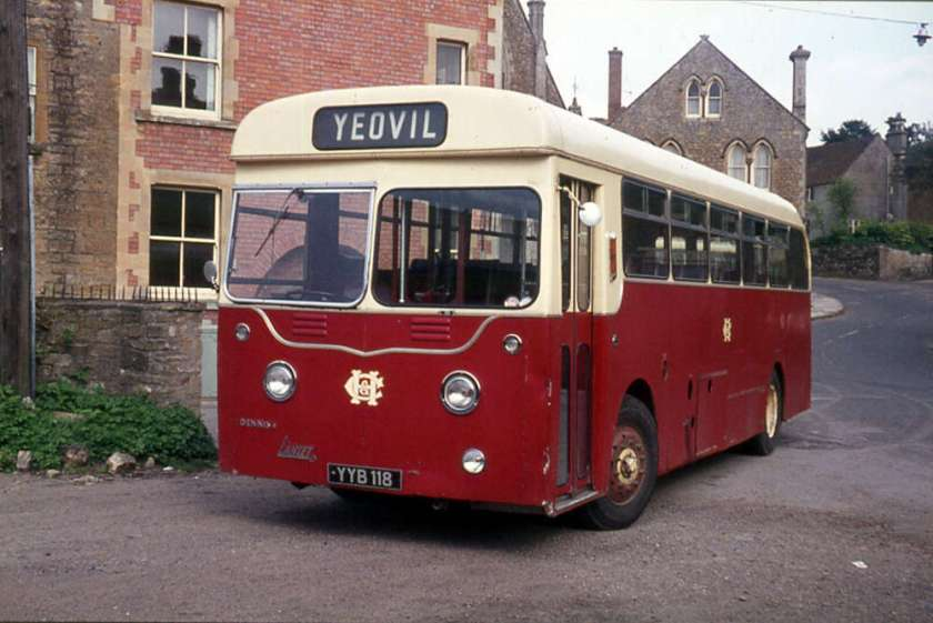 1957 Dennis Lancet UFs with Harrington B42F bodies