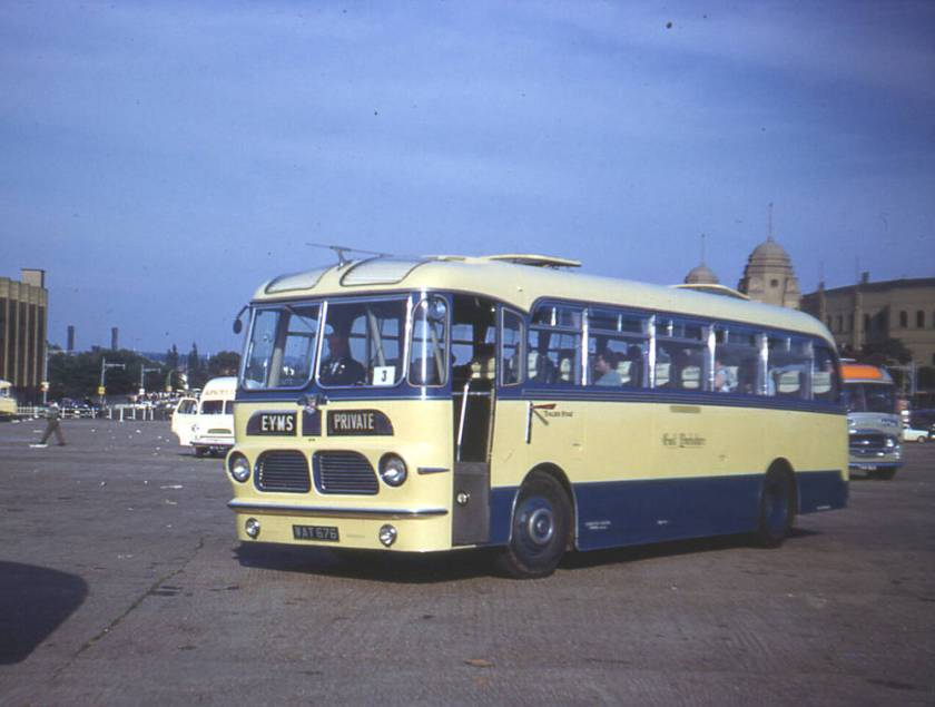 1957 Leyland PSUC1-2 Tiger Cubs with Harrington Wayfarer V C35F bodies