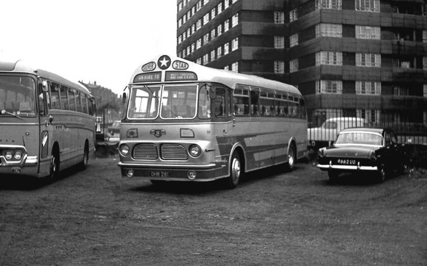 1957 Leyland Tiger Cub- Harrington C41F