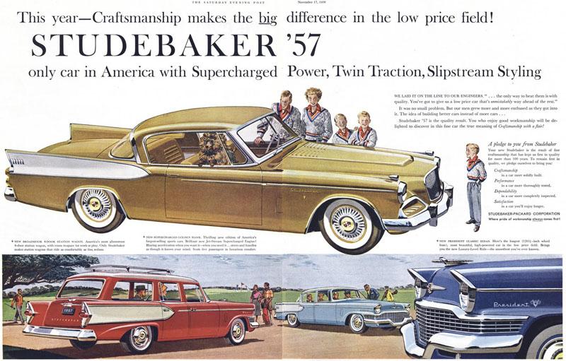 1957 Studebaker Ad