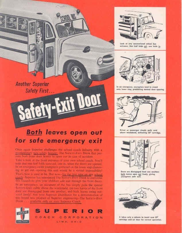 1957 Superior School Bus Brochure