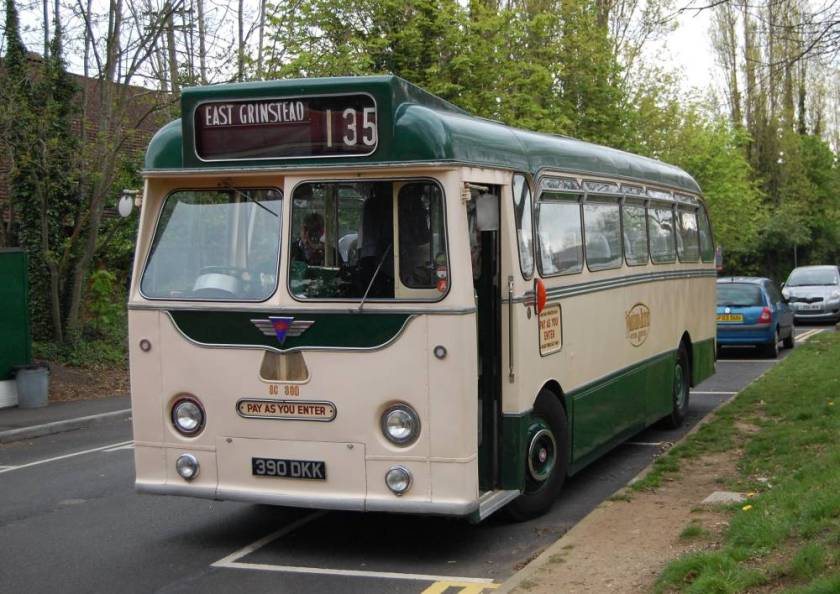 1958 AEC Reliance with Harrington body