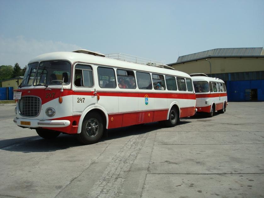 1958 Škoda 706 RTO a Jelcz P-01